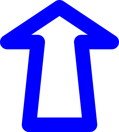 arrow upload icon