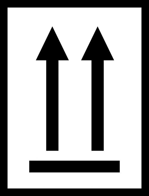 arrow alignment black