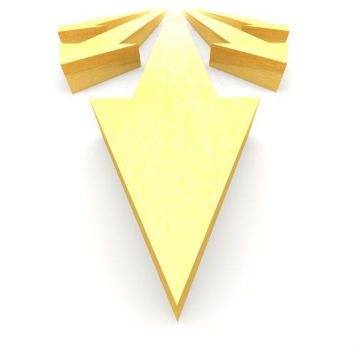 arrows direction course