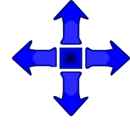 arrows directions up