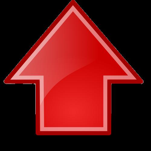 arrows up upload
