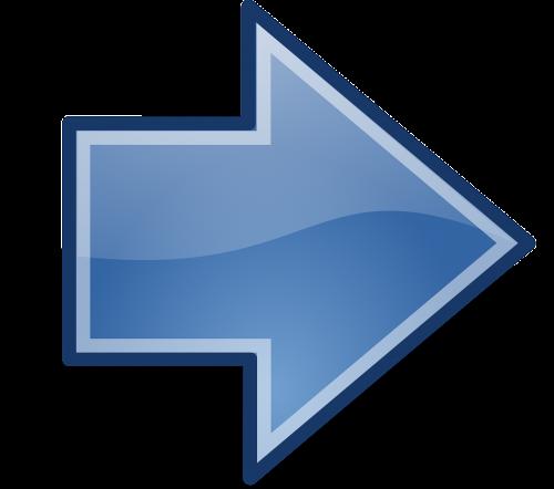 arrows blue right