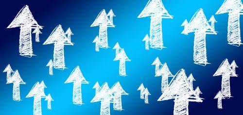 arrows growth hacking marketing