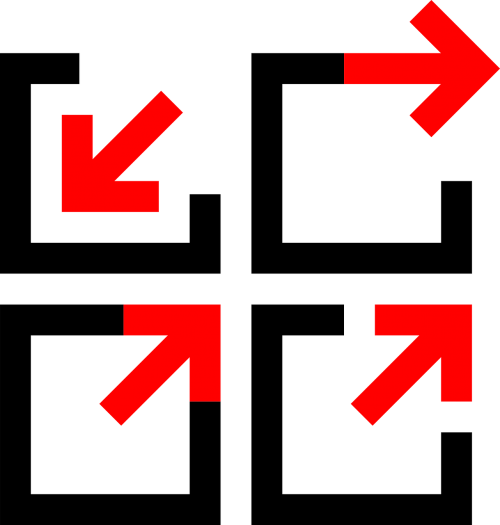 arrows directions abstract