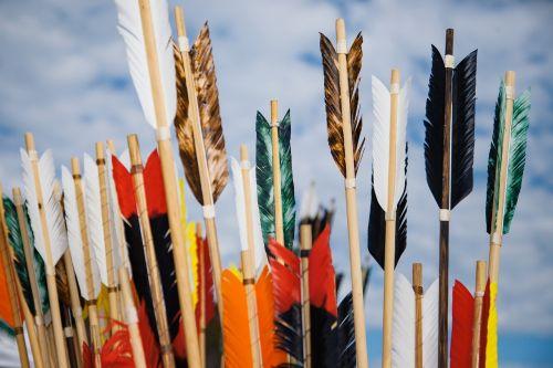 arrows archery fletching