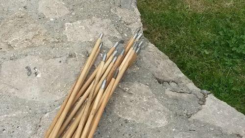 arrows wood arrows pointed