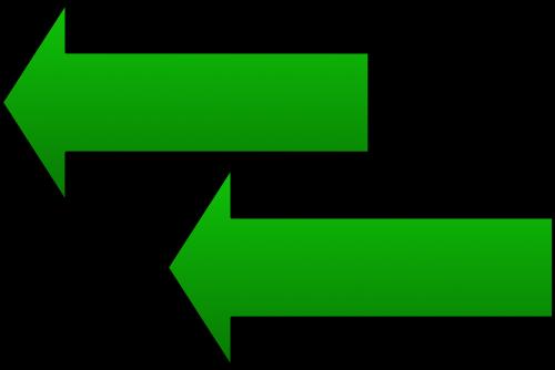 arrows next direction