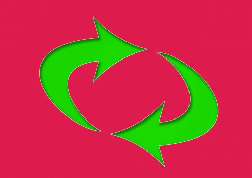 arrows about bent