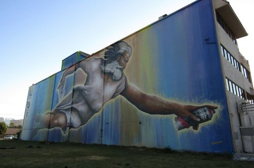 art street art god