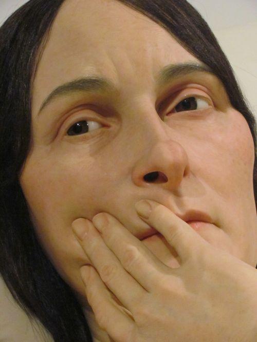 art sculpture ron mueck
