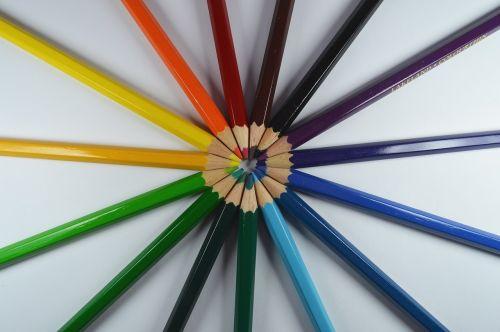 art pens colorful