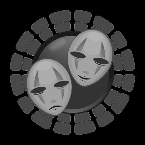 art mascaras vectors