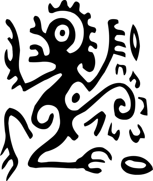art clips hieroglyph