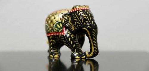 art black elephant