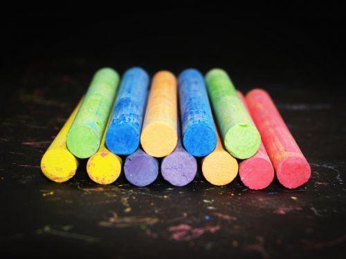 art art materials chalk