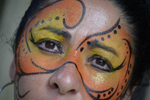 art makeup painting