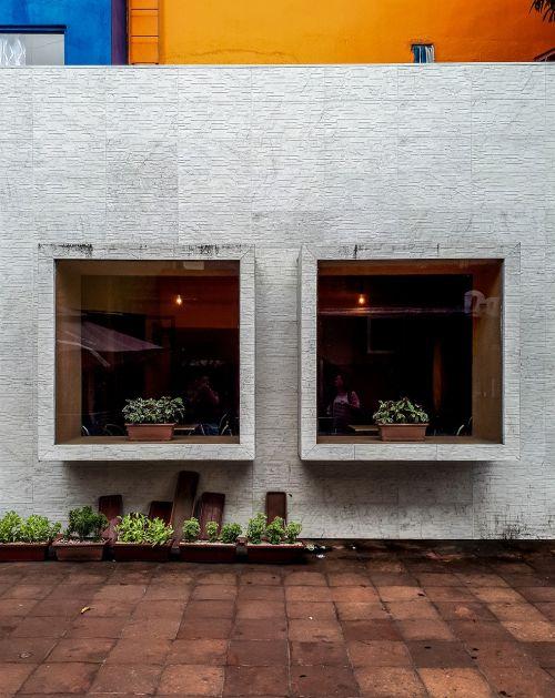 menas,architektūra,kavinė,šiuolaikiška,architektūra,langas,struktūra