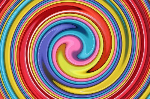 art spiral abstract art