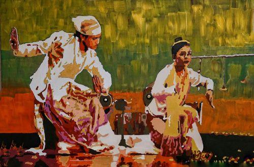 art traditional burmese