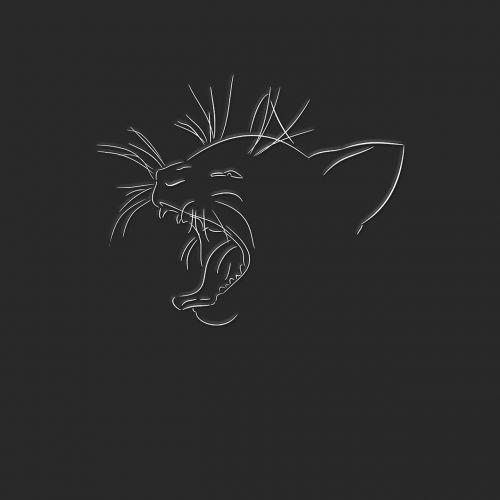 art desktop silhouette