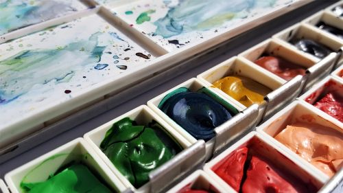 art painting colors