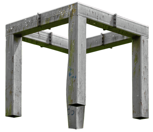 art  metal frame  art object