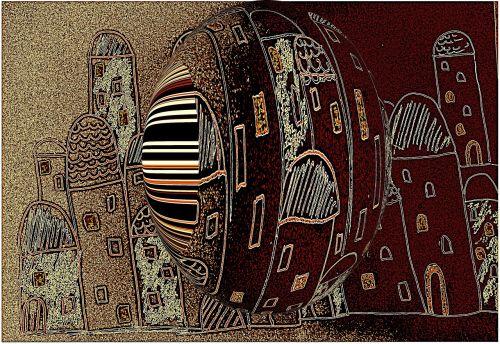 art homes abstract