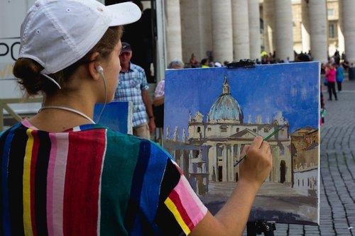 art  artists  vatican