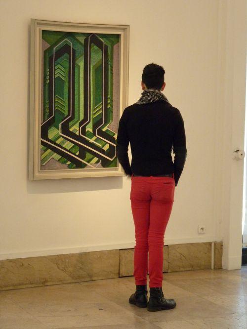 art observer person