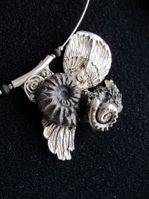 art jewelry silver