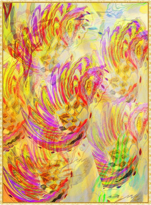 art background colorful