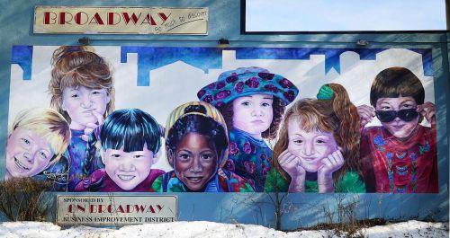 menas,spalvos,saskatoon,fjeras,Saskatoon Broadway,įvairus,vaikai,vaikai,denyse klette,daugiakultūriškumas,etniniu požiūriu įvairūs vaikai,90s,Saskatchewan,daugiatautės vaikai,multi etninis,dažymas