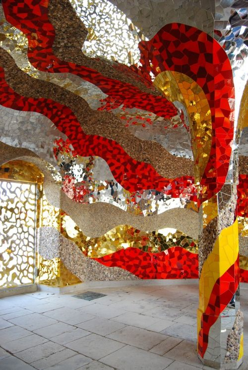 art niki de saint phalle grotto