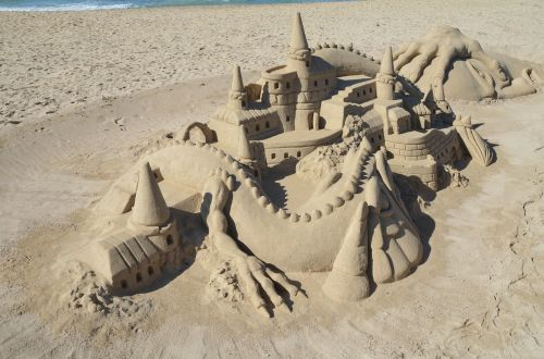 art sandburg sand sculpture