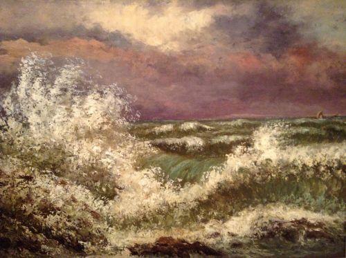 art painting ocean