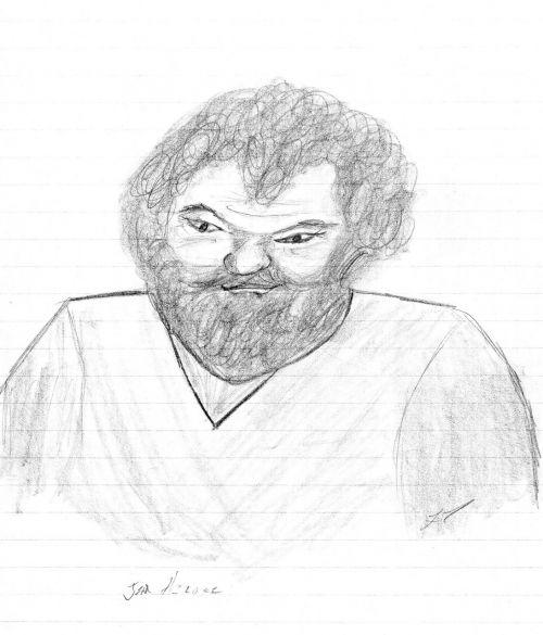art hand drawing man