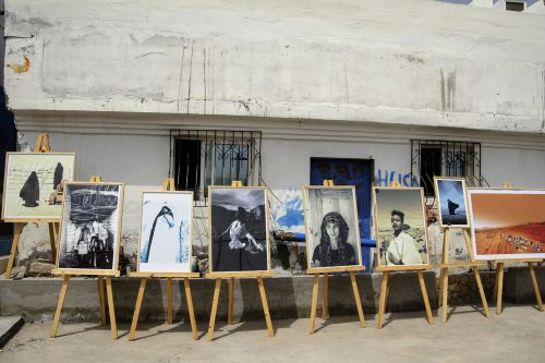 art exhibition outdoor images