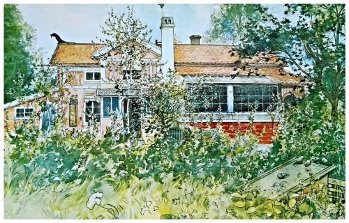 art from sweden artist carl larsson painting