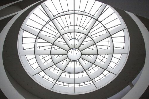 art gallery dome light architecture