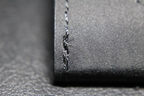art leather seam sew