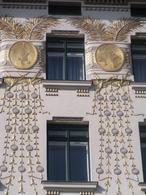 art nouveau ornaments decorative