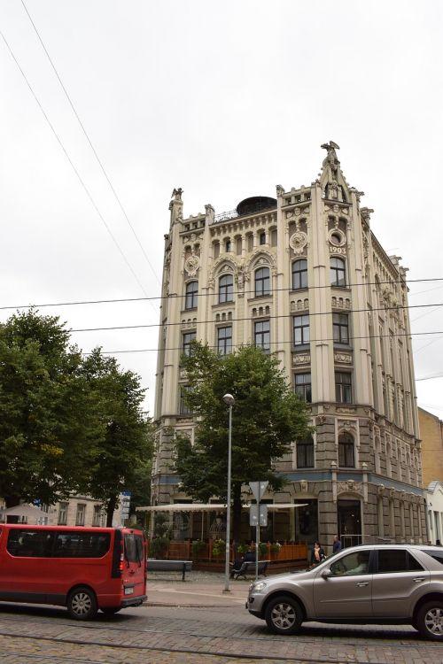 art nouveau architecture building