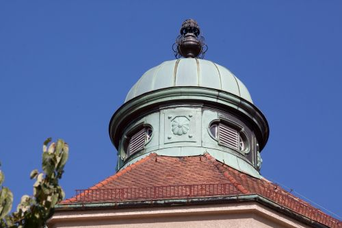 art nouveau turret building