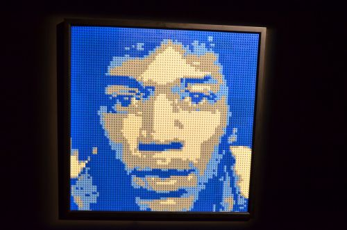Art Of The Brick. Jimi Hendrix.