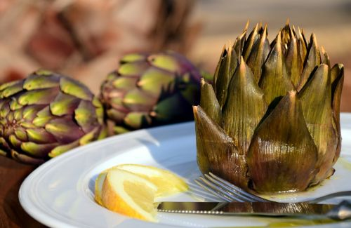 artichoke eat vegetables