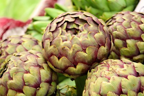 artichoke  vegetables  market
