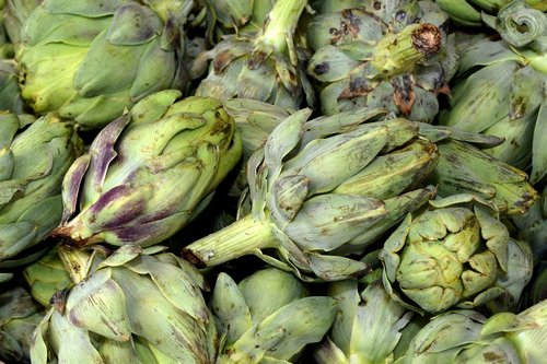 artichokes  vegetables  food
