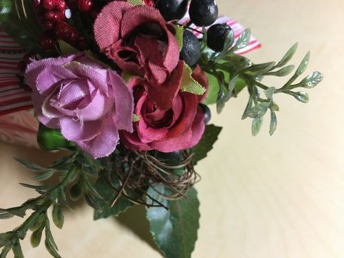 artificial flowers rose wrapping