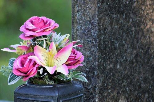artificial flowers  vase  decoration