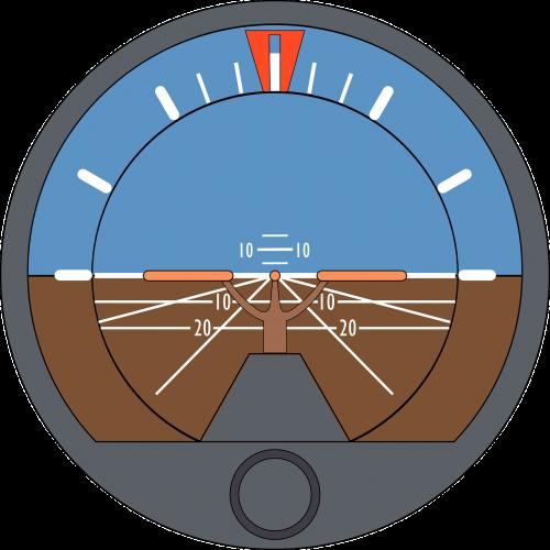 dirbtinis horizontas,požiūrio rodiklis,gyro horizontas,skraidantis,skrydžio treniruoklis,lėktuvas,rodyti,nemokama vektorinė grafika
